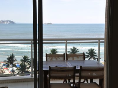 Photo for Excellent and modern condominium with complete leisure area and full sea front.