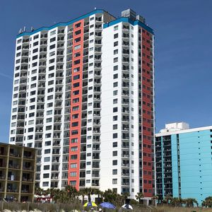 Photo for Myrtle Beach Ocean View Condo, Arcade, Sauna, WIFI, Pool, sleeps 6!