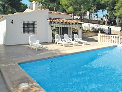 Photo for Vacation home Haus Manzano (MRA423) in Moraira - 6 persons, 3 bedrooms