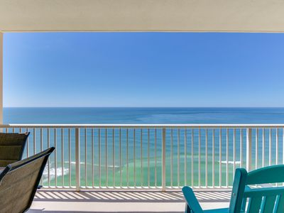 Photo for Majestic Reduced 3br/2ba Gulf View 21St Floor*Mstr Bdrm Gulf Front Sleeps 8