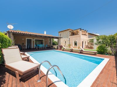 Photo for A beautiful furnished villa, located in a peaceful area only 600m from the sea