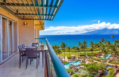Photo for Maui Resort Rentals: Honua Kai Hokulani 748 - Upgraded Top-Floor 2BR w/ Partial Ocean AND West Maui Mountain Views!