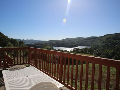 Photo for Chalet overlooking the lake, in La Salvetat-sur-Agoût, near the famous source