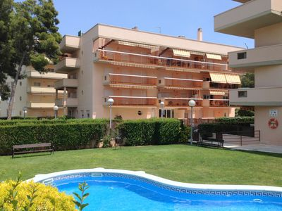 Photo for La Pineda: APARTMENT WITH SWIMMING POOL AND GARDENS IN A RESIDENTIAL AREA – IDEAL HOLIDAYS
