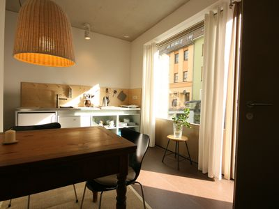 Photo for Small, stylish guest apartment in the heart of Weimar's historic Old City.