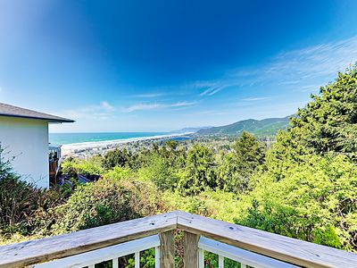Photo for 1.21-Acre Haven w/ Panoramic Ocean, Lake, & Mountain Views - 1 Mile to Beach