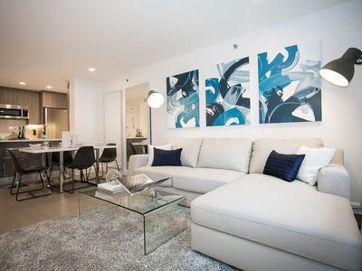 Photo for Luxurious One Bedroom Designer Apartment- Fitness,Doorman,Terrace