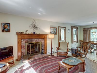 Photo for Cozy, quiet, secluded, & within a short walk to the beach
