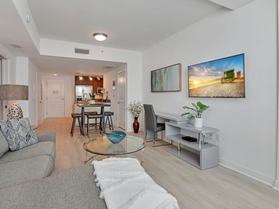 Photo for Brand New 1 Bedroom close to the Beach