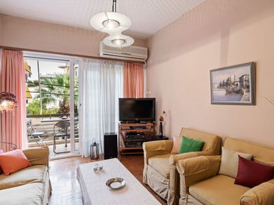 Photo for Tasteful Apartment in Athens with Air-Conditioning