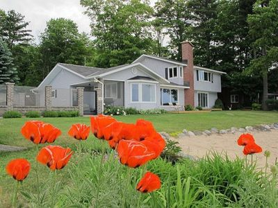 Photo for One Fine Bay-Traverse City, MI-On West Bay with Sandy Beach and Heated Pool