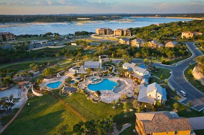 Photo for Hollows Resort, Luxury Villa, Great View of Lake Travis & Hill Country