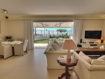Photo for Luxury 3 bedroom apartment facing the beach