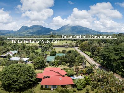 Amazing location: secluded and private but close from all La Fortuna attractions