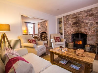 Photo for 5* Luxury Family Holiday Cottage, Dog Friendly, Nr Beach, Cornwall