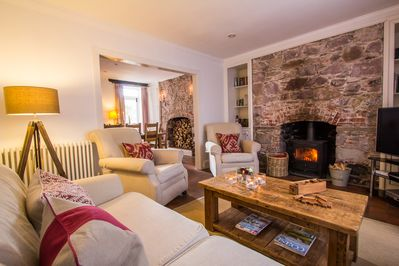 Stupendous 5 Luxury Family Holiday Cottage Dog Friendly Nr Beach Cornwall Kingsand Interior Design Ideas Gentotryabchikinfo
