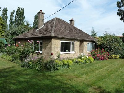 Photo for Detached Bungalow In Large Lawned Garden With Old Orchard. Non-smoking Property