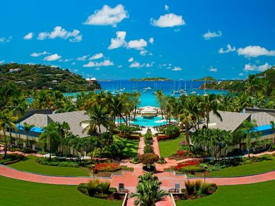 Photo for Studio with stunning views of Great Cruz Bay in beautiful Westin Resort St. John