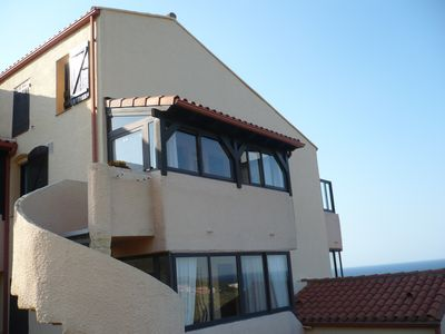 Photo for Duplex apartment in shared pool resid, indiv garage. Breathtaking views