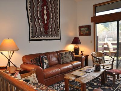 Photo for Western Ambience and Great Views from 2 Bedroom plus Loft in the Aspens!