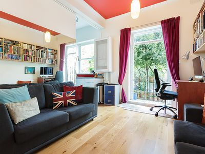 Photo for Beautiful Notting Hill Garden Apartment.............