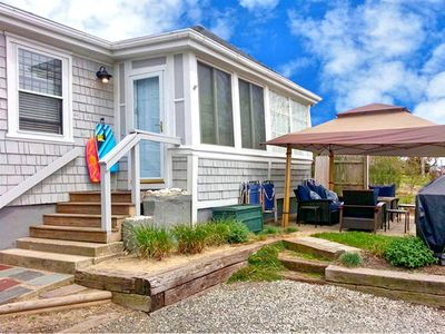 Photo for Easton's Beach House: Central AC & Steps to the Beach!
