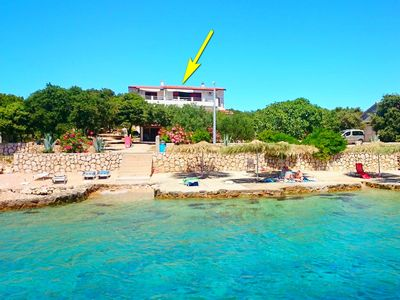 Photo for Apartments Bogumila, (14784), Mandre, island of Pag, Croatia