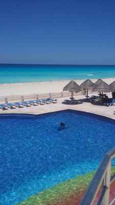 Photo for STUDIO IN THE BEST BEACH OF CANCUN