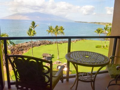 The spectacular view from Surfside 604's lanai