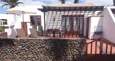 Photo for Las Brisas Playa Blanca 2 bedroom villa with sea views