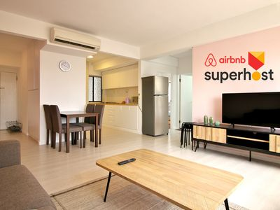 Photo for 2 Bedroom minutes from Orchard Central