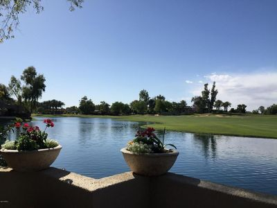 Photo for Family-Friendly luxury Scottsdale Condo with amazing lake and fairway views