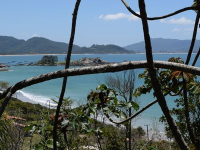 Photo for Matadeiro beach, in the woods overlooking the sea and very quiet