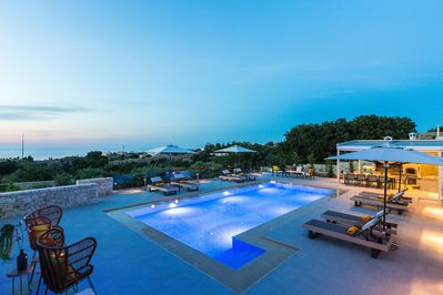 Set in the nature at the same time the villa is close to the city and the beach