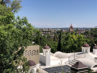 Photo for Charming Apartment with beautiful terrace and amassing view.