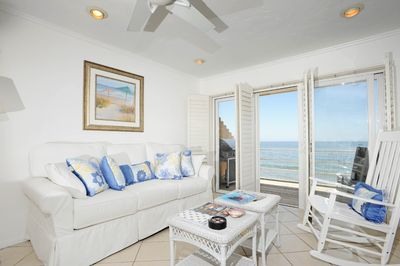 Enjoy the panoramic views from the living room