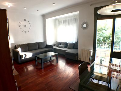 Photo for Classic apartment with private terrace in the center of Barcelona in Eixample