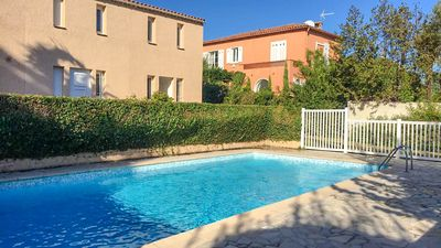 Photo for Quiet Villa + Pool, 5 Mins Walk To Sandy Beach & Easy For City Centre
