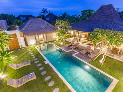 Photo for NEW! Majestic Exclusive 5BDR Central Seminyak/Oberoi/beach