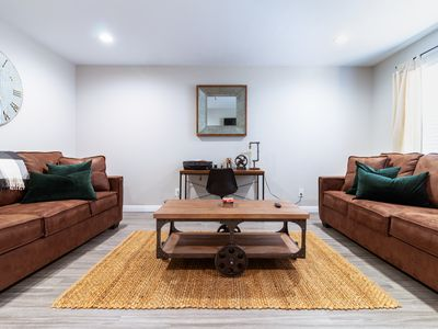 Photo for *SANITIZED* Rustic Home | Family-Friendly | Walkable In-N-Out, Target, Costco