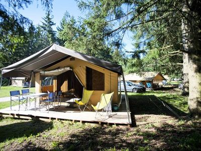 Photo for Camping Huttopia Saumur ***** - Sweet Tent + 3 Rooms 5 people