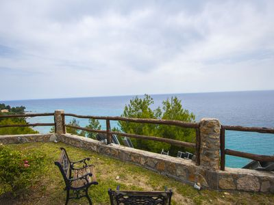 Photo for Andy's Place Amazing Sea View Villa, Posidi