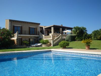 Photo for Exclusive finca with pool, 4 bedrooms 8 pers., few minutes to the beach, 4 golf