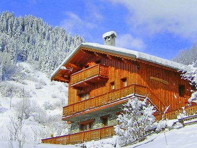 Photo for Comfortable chalet with typical Savoyard decoration