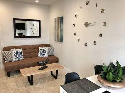 Photo for OCEANFRONT Quiet 1Bedroom Apartment in South Beach w/POOL