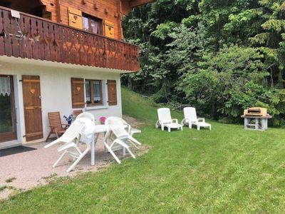 Photo for Apartment full-foot in individual chalet 4pe
