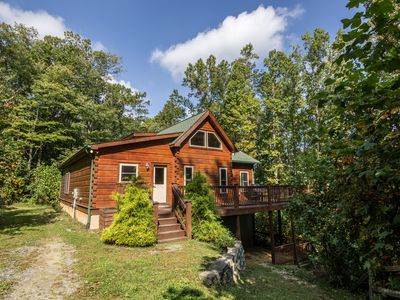 Photo for Falling Waters - Hot Tub, Pet Friendly, 5 minutes from Mast General Store!