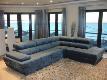 Luxury Apartment wit a privileged sea view, swimming pool, 5 min walk from the beach