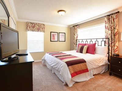 Photo for Magical Stay home with Private Pool In Front Clubhouse, Lake View and BBQ Grill