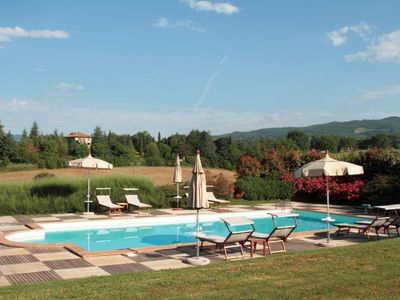 Photo for 6 Bedroom Detached Villa Arezzo   Villa Country is a lovely Tuscan Manor house on an estate in the hills